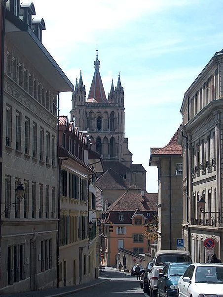 Lausanne, the day before yesterday