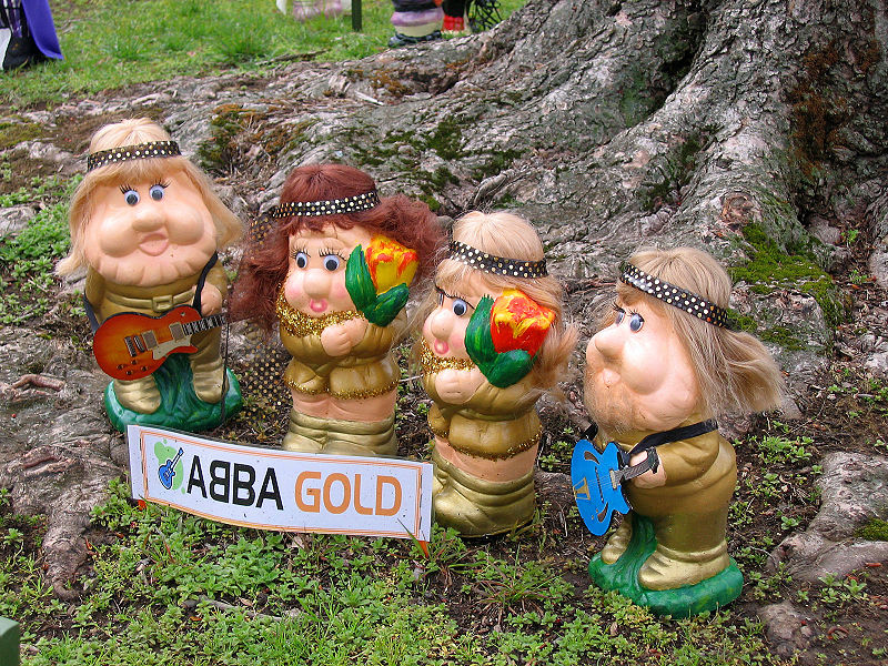 The best copyright-free ABBA-related picture I could find, unfortunately