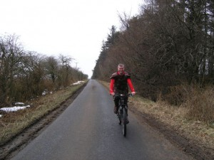 Tim - on a Roman Road, yesterday