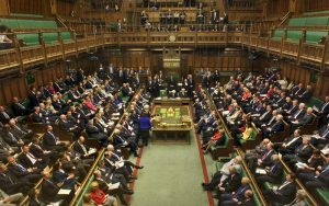 A grim House of Commons listens as the Prime Minister announces the end of Shoot Up