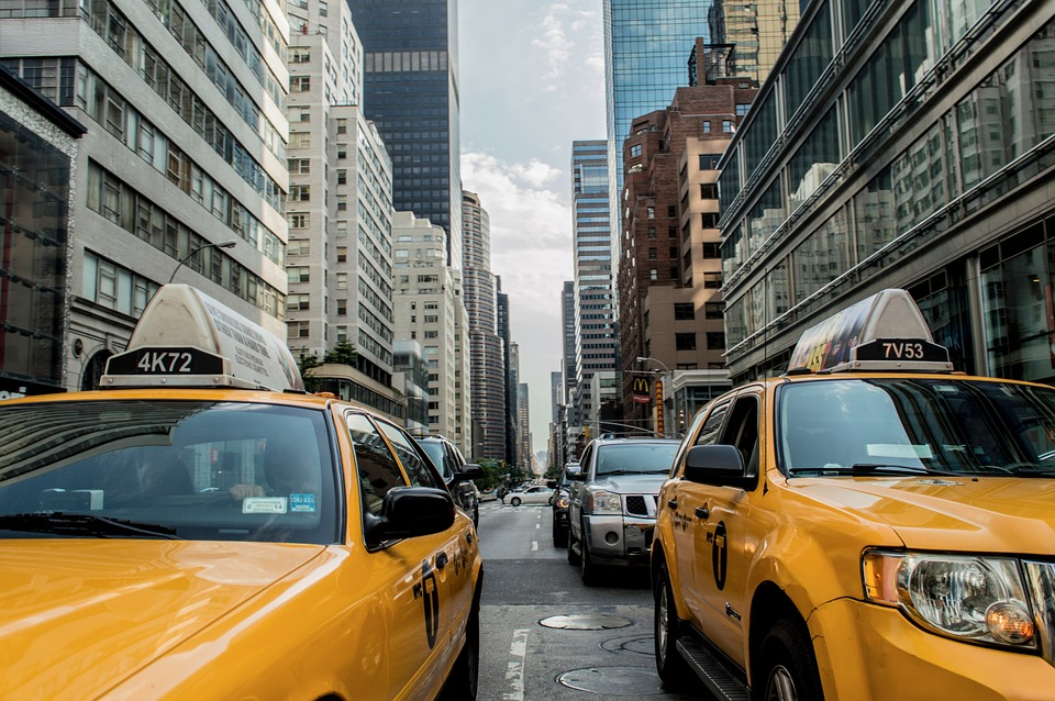 Cabs in the Big Apple