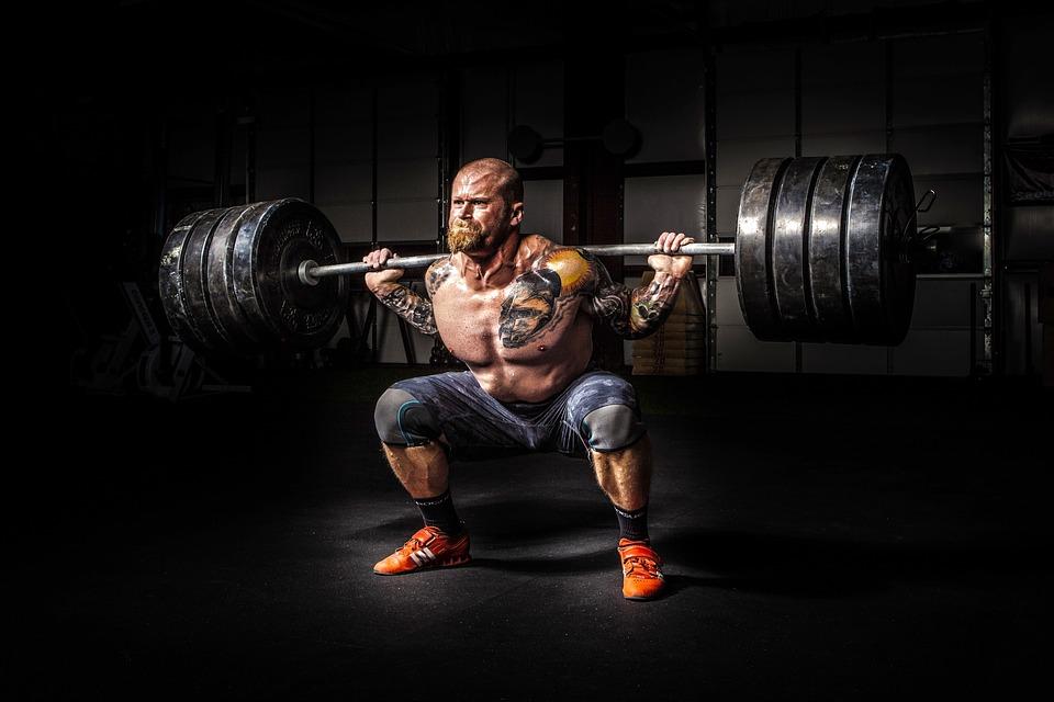 Weightlifting looks like hard work