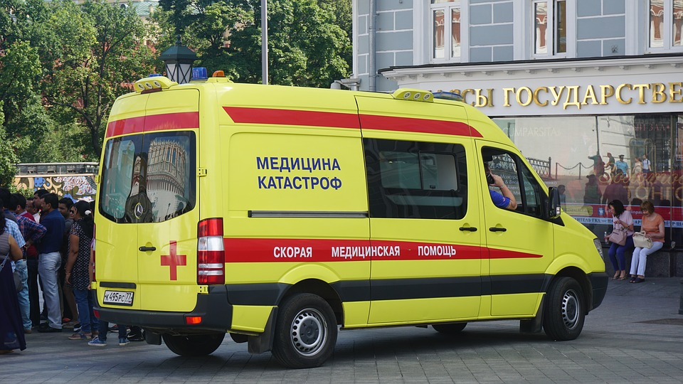 Can I find a royalty-free photo of a British ambulance? Nope, so this'll do.