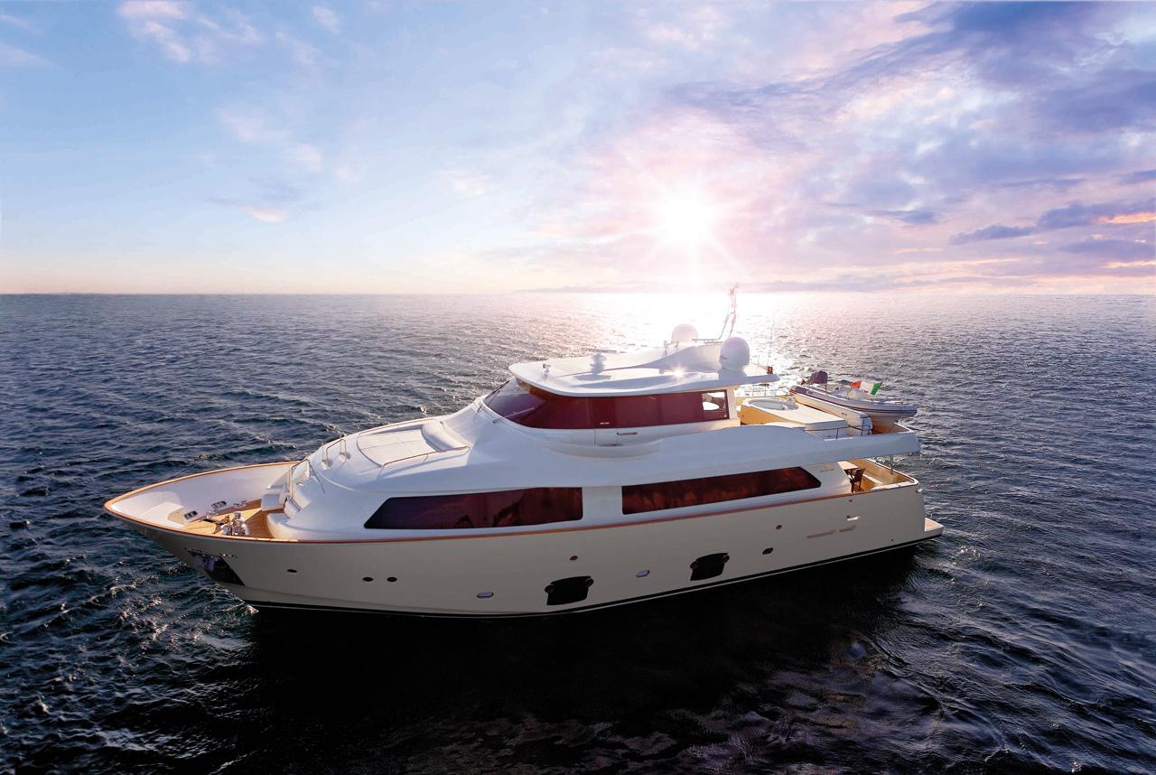 Shelly's new motor-yacht