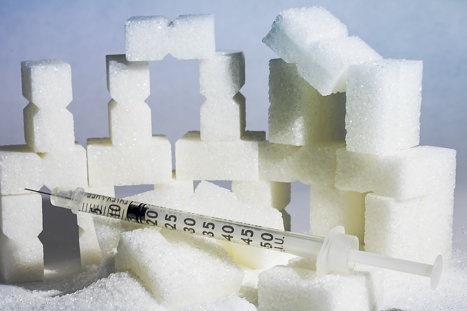 See - diabetes is all about sugar and injections. Geddit?