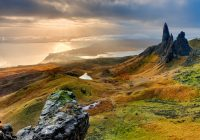 Scotland, yesterday