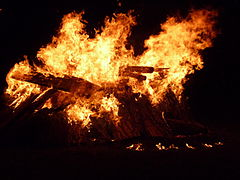 Obligatory image of flames when talking about burnout